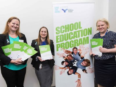 (L to R) Carol Every from Valad Solutions and Sally Gissing and Alice Dunt from the foundation, photo: Paul Jeffers